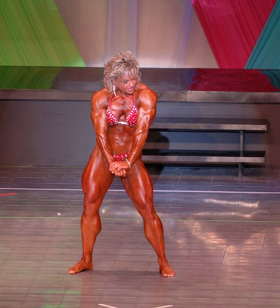 2006 Arnold Classic Ms International Finals - Angela Debatin