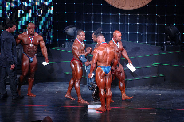 2009 Arnold Classic Mens Bodybuilding Finals - Awards